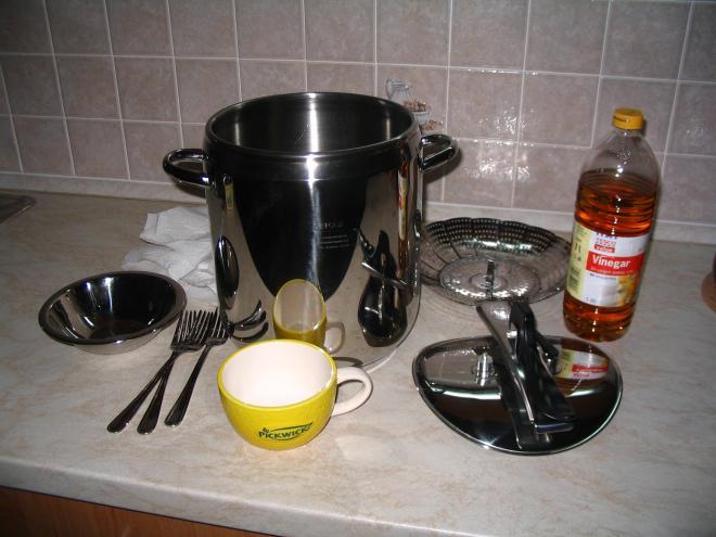 Napařování hedvábí v domácích podmínkách